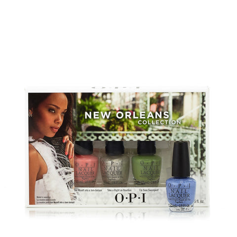 New Orleans Collection Nail Polish Set for Women by OPI 0.12 oz. Each