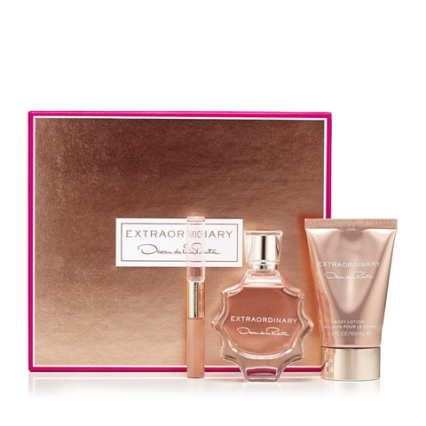 Extraordinary Gift Set for Women by Oscar De La Renta 3.0 oz.
