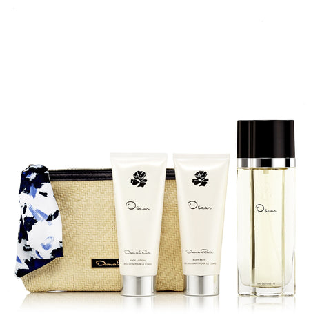 Oscar Gift Set EDT, Body Lotion, Shower Gel and Bag for Women by Oscar ...