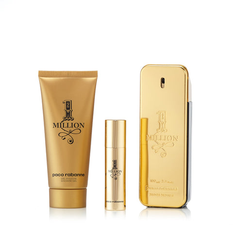 1 Million Set for Men by Paco Rabanne 3.4 oz.