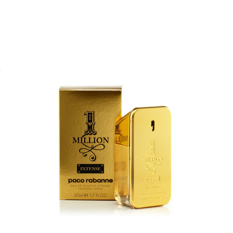 Paco Rabanne 1 Million Intense Eau de Toilette Mens Spray 1.7 oz.