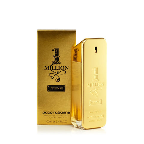 Paco Rabanne 1 Million Intense Eau de Toilette Mens Spray 3.4 oz.