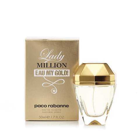 Paco Rabanne Lady Million Eau de Toilette Womens Spray 1.7 oz.