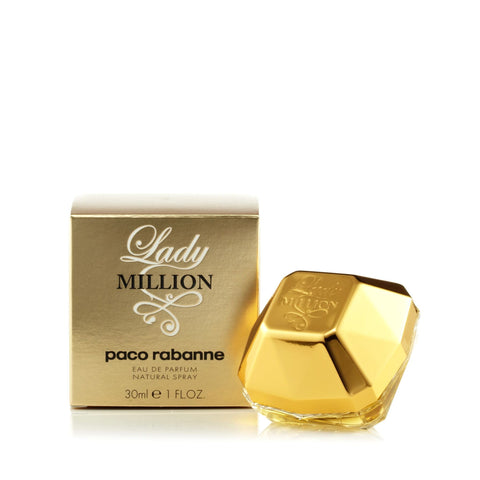 Paco Rabanne Lady Million Eau de Parfum Womens Spray 1.0 oz.