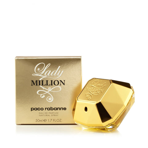 Paco Rabanne Lady Million Eau de Parfum Womens Spray 1.7 oz.