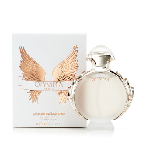 Olympea Aqua Eau de Toilette Spray for Women by Paco Rabanne 2.7 oz.