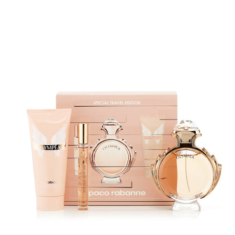 Olympea Gift Set for Women by Paco Rabanne 2.7 oz.