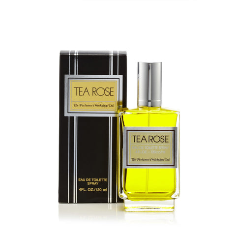 Perfumers Workshop Tea Rose Eau de Toilette Womens Spray 4 oz.