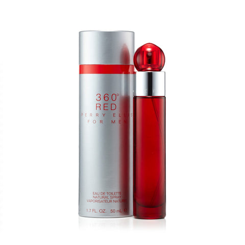 Perry Ellis 360 Red Eau de Toilette Mens Spray 1.7 oz.