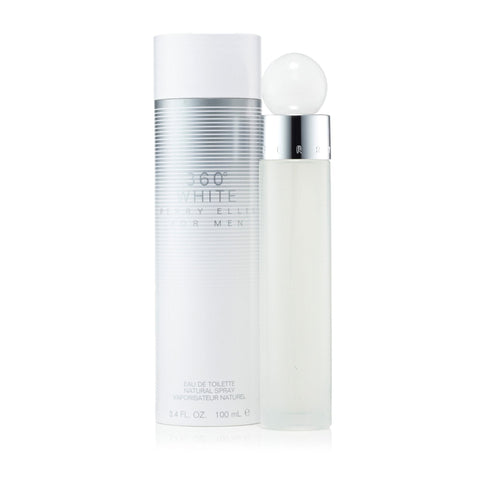 Perry Ellis 360 White Eau de Toilette Mens Spray 3.4 oz.