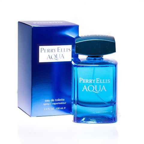 Aqua Eau de Toilette Spray for Men by Perry Ellis 3.4 oz.image