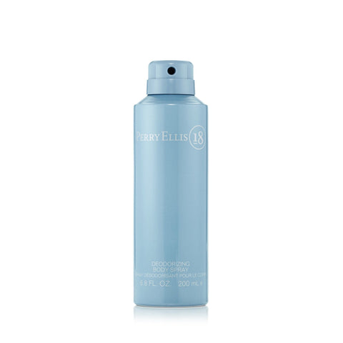 Perry Ellis 18 Body Spray for Men by Perry Ellis 6.8 oz.