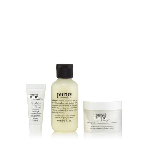 Renewed Hope Trial Kit by Philosophy