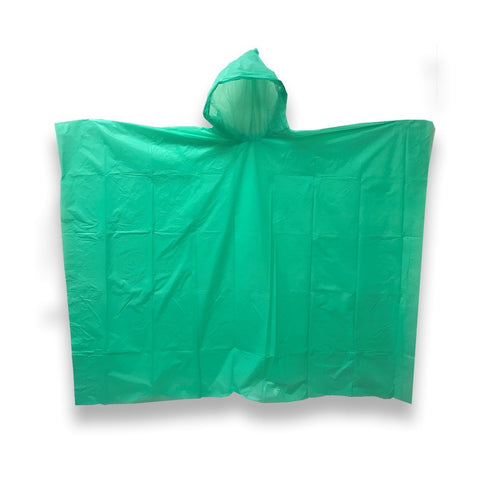 Rain Poncho - Pack of 5 - Durable Material Light Weight