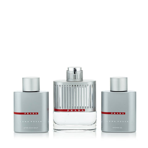 Luna Rossa Set for Men by Prada 3.4 oz.