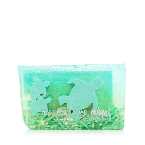Sea Turtles Hand Made Soap by Primal Elements 5.8 oz.