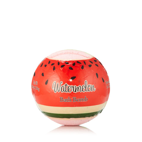 Watermelon Hand Made Bath Bomb by Primal Elements 4.8 oz.