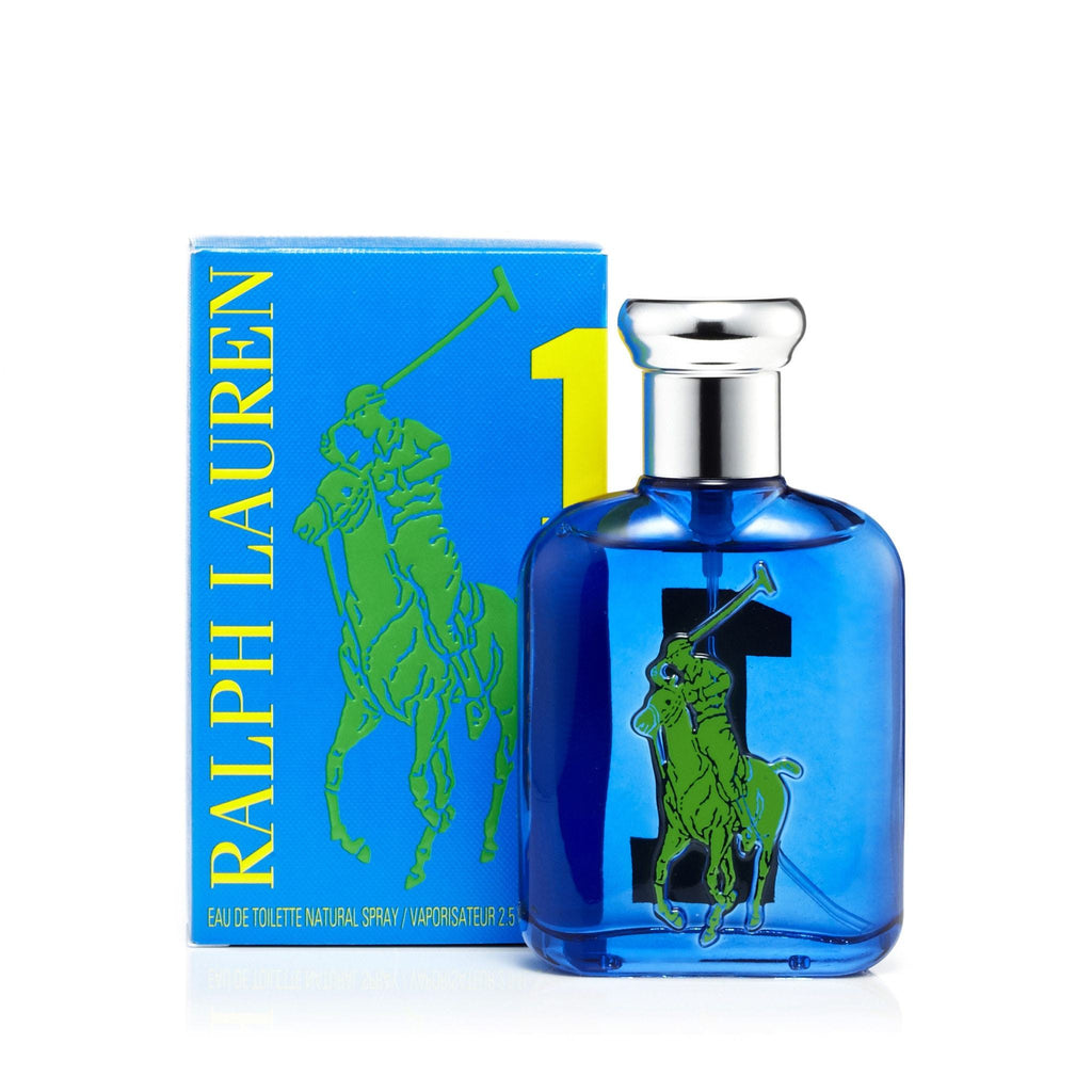 Ralph Lauren Big Pony Blue 1 Eau de Toilette Mens Spray 2.5 oz.