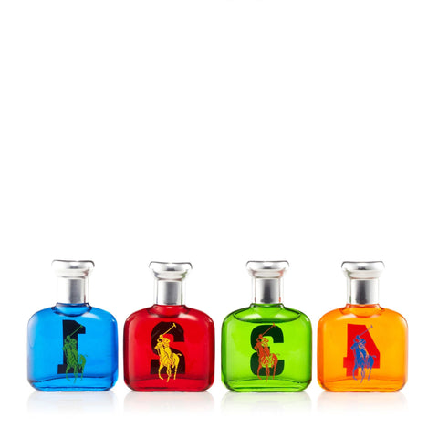 Ralph Lauren Big Pony Miniatures Mens 0.5 oz. Each