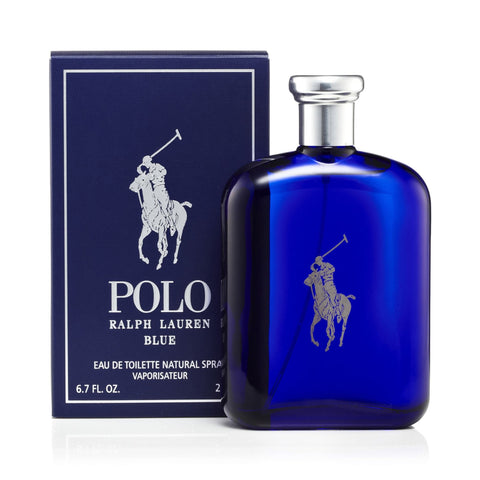 Ralph Lauren Polo Blue Eau de Toilette Mens Spray 6.7 oz. 0475c2ef895a7