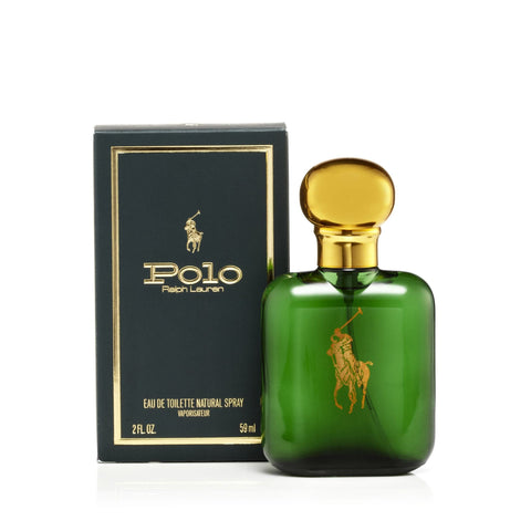 Ralph Lauren Polo Green Eau de Toilette Mens Spray 2.0 oz.