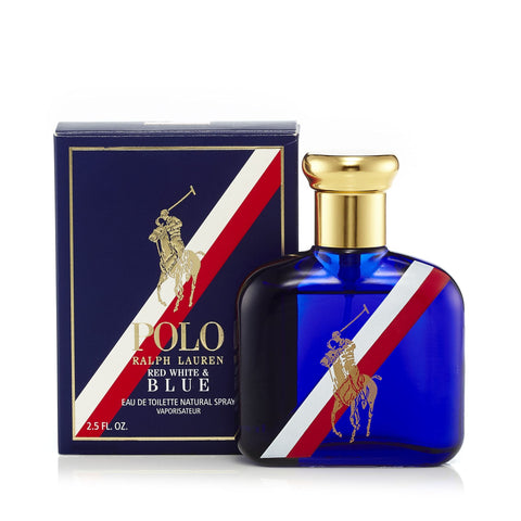 Polo Red White and Blue Eau de Toilette Spray for Men by Ralph Lauren 2.5 oz.image