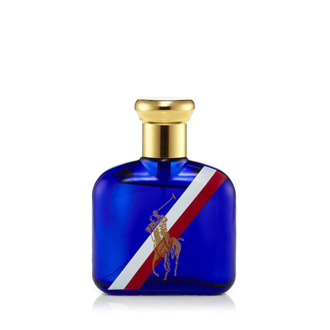 Polo Red White and Blue Eau de Toilette Spray for Men by Ralph Lauren 2.5 oz.