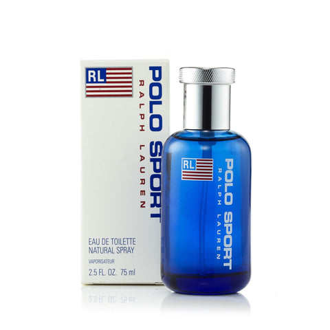 Polo Sport Eau de Toilette Spray for Men by Ralph Lauren 2.5 oz.