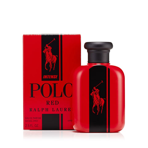 Polo Red Intense Eau de Toilette Spray for Men by Ralph Lauren 2.5 oz.