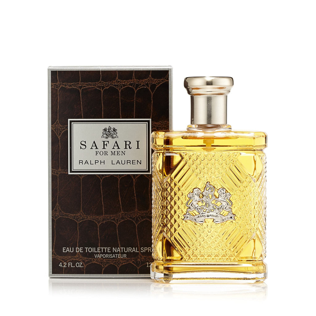 Safari Eau de Toilette Spray for Men by Ralph Lauren 4.2 oz.