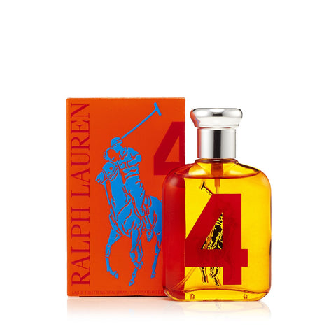 Big Pony Orange 4 Eau de Toilette Spray for Men by Ralph Lauren 2.5 oz.