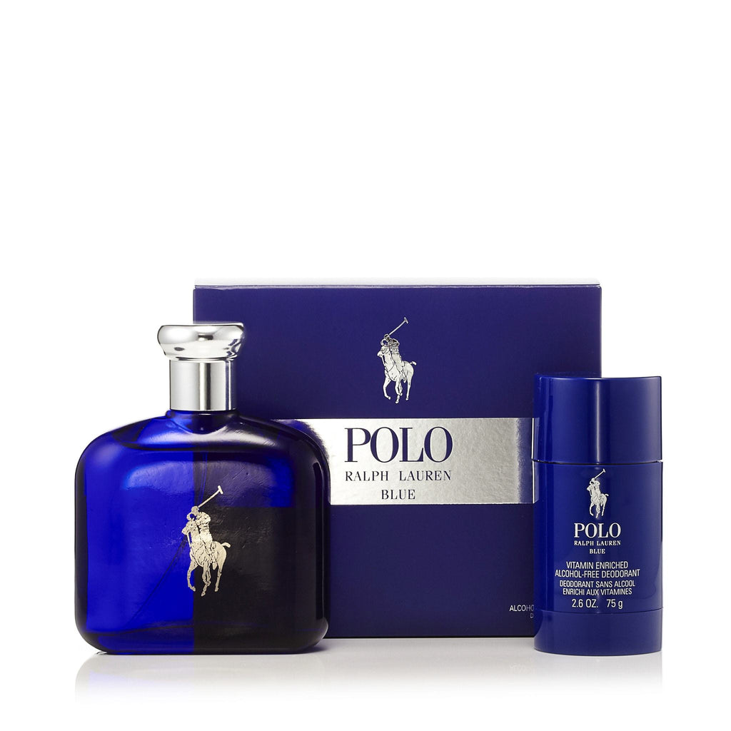 Polo Blue Gift Set for Men by Ralph Lauren 4.2 oz.