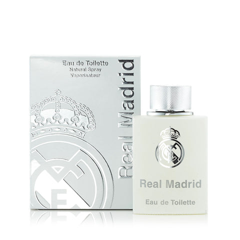 Real Madrid Eau de Toilette Spray for Men by Real Madrid 3.4 oz.