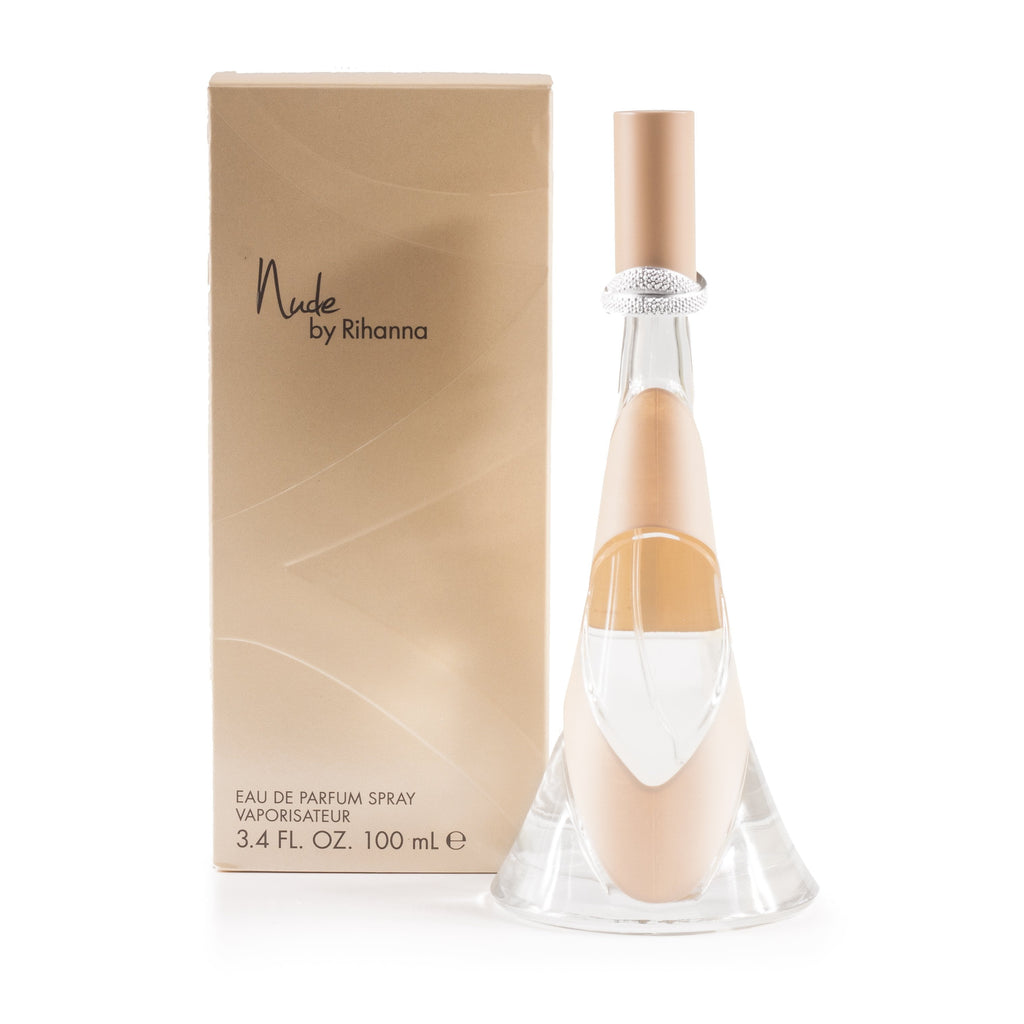 Nude Eau de Parfum Spray for Women by Rihanna 3.4 oz.