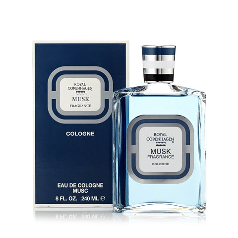 Royal Copenhagen Musk Cologne for Men by Royal Copenhagen 8.0 oz.