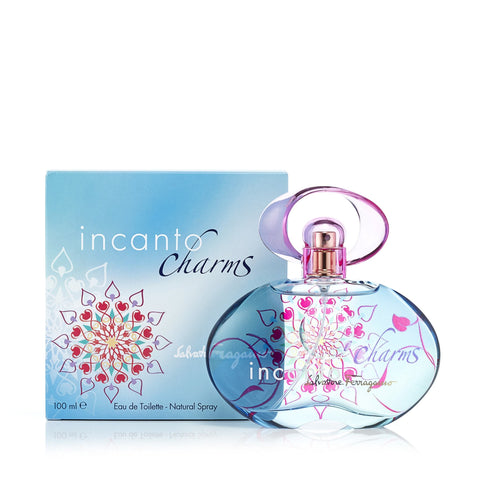 Incanto Charms Eau de Toilette Spray for Women by Ferragamo 3.4 oz.