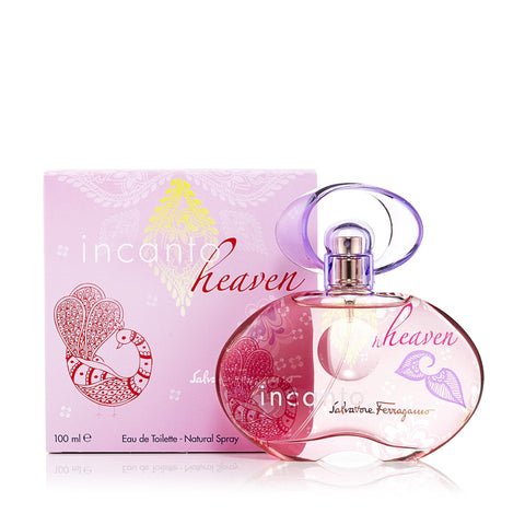 Incanto Heaven Eau de Toilette Spray for Women by Ferragamo 3.4 oz.
