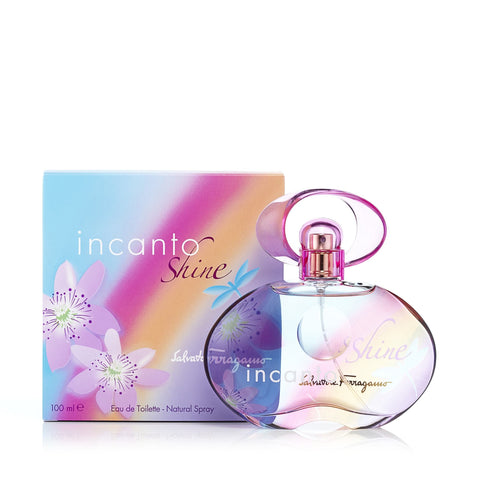Incanto Shine Eau de Toilette Spray for Women by Ferragamo 3.4 oz.