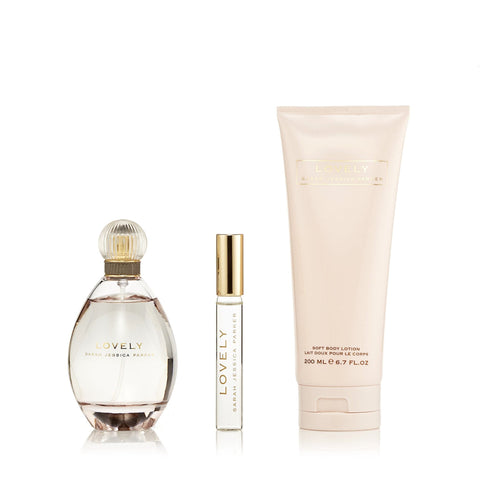 Lovely Gift Set for Women by Sarah Jessica Parker 3.4 oz.