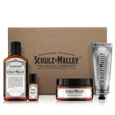 Gentleman's Shaving Collection Gift Set for Men by Schulz & Malley