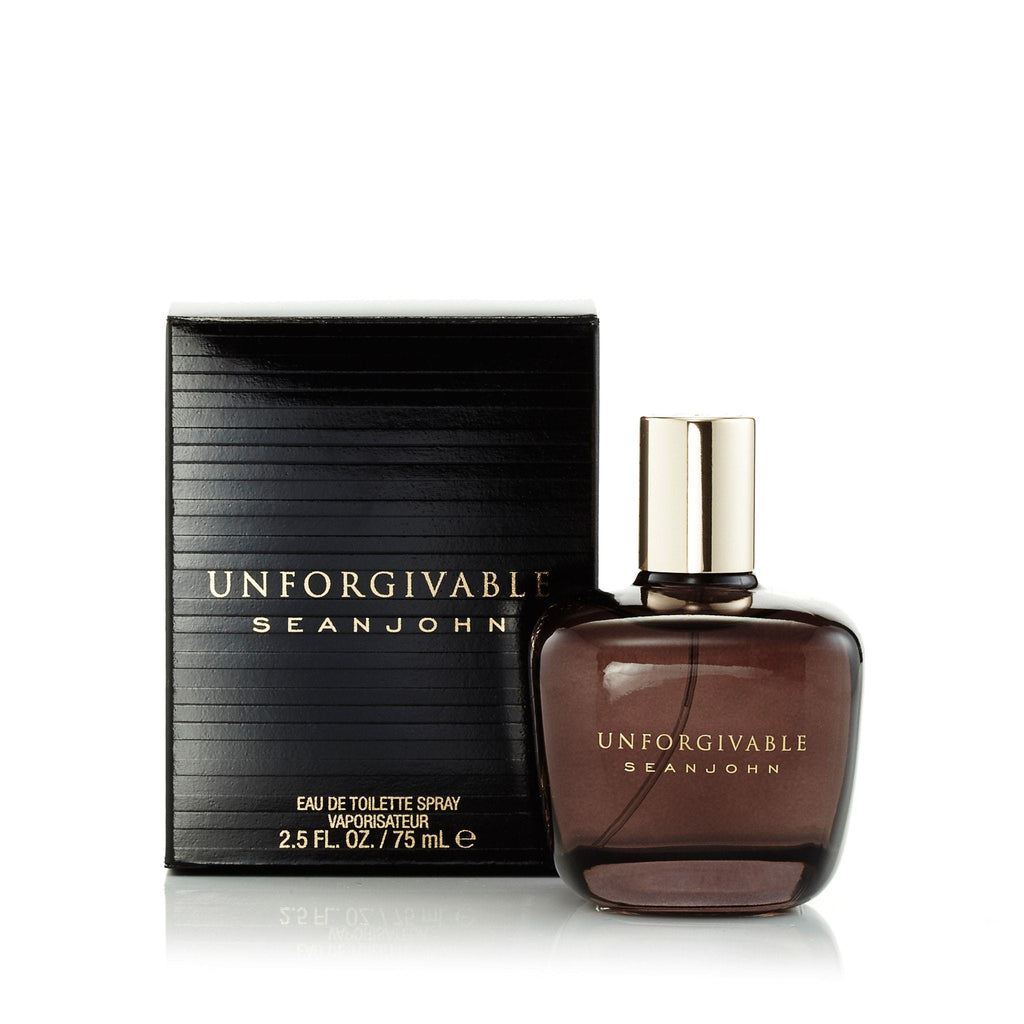 Unforgivable Eau de Toilette Spray for Men by Sean John 2.5 oz.
