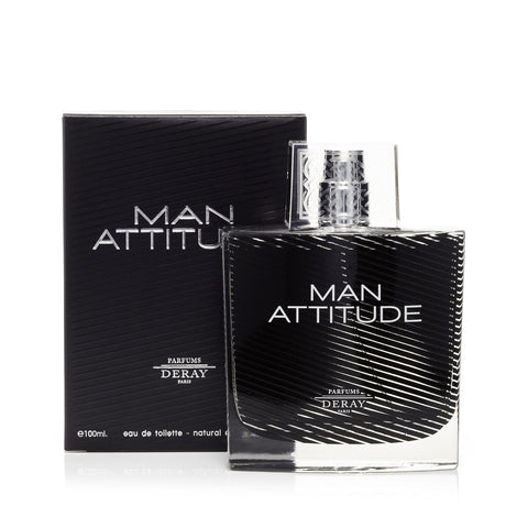 Man Attitude Eau de Toilette Mens Spray 3.4 oz.