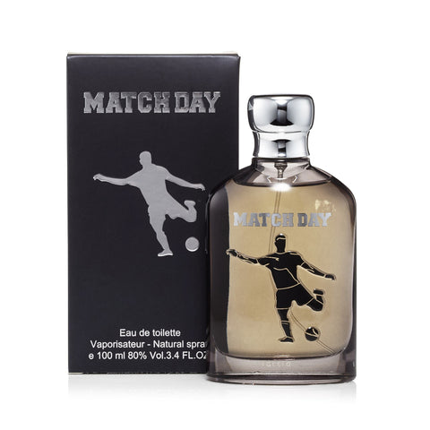 Match Day Black Eau de Toilette Mens Spray 3.4 oz.