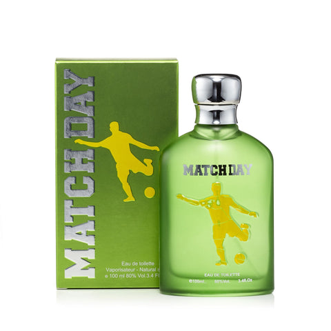 Match Day Green Eau de Toilette Mens Spray 3.4 oz.