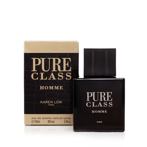 Pure Class Eau de Toilette Mens Spray 3.4 oz.