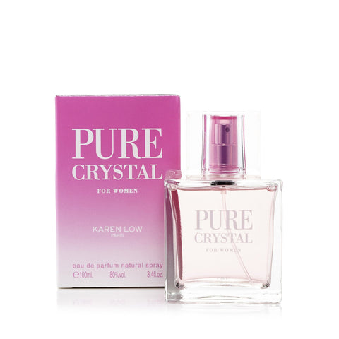 Pure Crystal Eau de Parfum Womens Spray 3.4 oz.