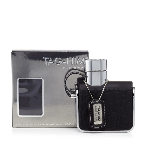 Tag Him Eau de Toilette Mens Spray 3.4 oz.