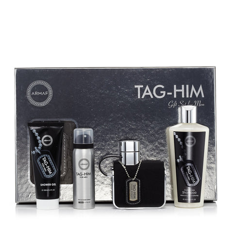Tag Him Gift Set Mens  3.4 oz.