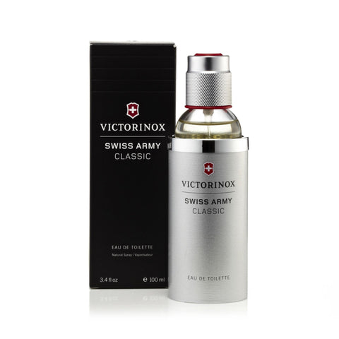 Victorinox Swiss Army Eau de Toilette Mens Spray 3.4 oz.