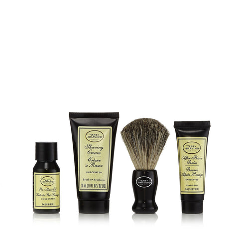 The 4 Elements of the Perfect Shave Starter Set Unscented by The Art of Shaving